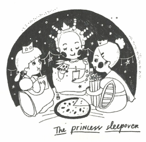 The Princess Sleepover from One Good Thing About America